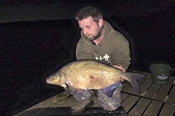 Shaun with a 12lb bream