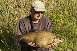 Keith with a 11lb Bream