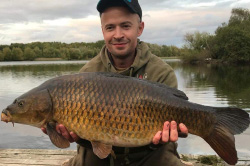 Mike with 'Paddy' at 21lb