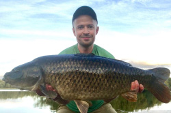 Mike with 21.4lb 'Long Common'