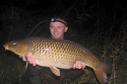 Ben with a 20lb Common