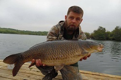 Shaun with a 18lb Common