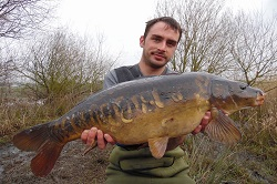 Grant with a 18lb Mirror