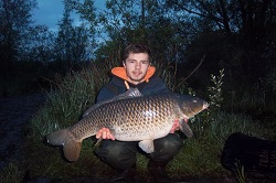 Josh with a 18lb Common