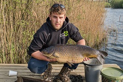 Stefan with a 20lb Common