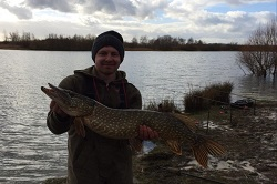 Shaun with a Pike